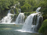 Krka Tufa Falls, Sibenik, Croatia, Europe Photographic Print by Waltham Tony