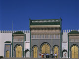 Royal Palace, Fes El-Jdid, Fez, Morocco, North Africa, Africa Photographic Print by Tovy Adina