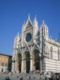 Duomo in Siena, UNESCO World Heritage Site, Tuscany, Italy, Europe Photographic Print by Rainford Roy