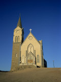 Felsenkirche, German Lutheran Church, Luderitz, Namibia, Africa Photographic Print by Renner Geoff