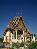 Wat Phra Nang Sang, a Temple at Patong in Thailand, Southeast Asia Photographic Print by Tovy Adina