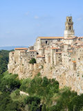 Pitigliano, Grosseto, Tuscany, Italy, Europe Photographic Print by Tondini Nico