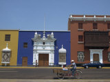 Colonial Architecture, Plaza De Armas, Trujillo, Peru, South America Photographic Print by Jane Sweeney