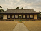 Daikodo, Horyu-Ji Temple, Nara, Kansai, Honshu, Japan Photographic Print by Schlenker Jochen