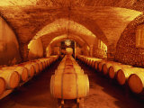 Barrels of Wine, France, Europe Photographic Print by Morandi Bruno