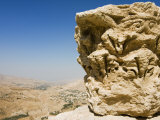 Capital at Crusader Fort at Kerak, Jordan, Middle East Photographic Print by Tondini Nico