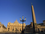 St. Peter's Basilica St. Peter's Square, Vatican City, Rome, Lazio, Italy Photographic Print by Tomlinson Ruth