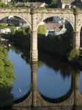 Bridge over River Nidd at Knaresborough, Yorkshire, England, United Kingdom, Europe Photographic Print by Richardson Rolf
