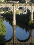 Bridge over River Nidd at Knaresborough, Yorkshire, England, United Kingdom, Europe Photographic Print by Richardson Rolf