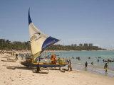 Pajucara Beach, Maceio, Alagoas, Brazil, South America Photographic Print by Richardson Rolf