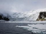 Glacier, Spitzbergen, Svalbard, Norway, Scandinavia, Europe Photographic Print by Milse Thorsten