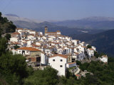 White Village of Algatocin, Andalucia, Spain, Europe Photographic Print by Short Michael