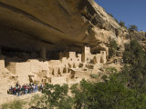 Mesa Verde, Mesa Verde National Park, UNESCO World Heritage Site, Colorado, USA Photographic Print by Snell Michael