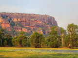 Nourlangie Rock and Anbangbang Billabong, Kakadu National Park, Northern Territory, Australia Photographic Print by Schlenker Jochen