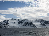 Glacier and Coastline Spitsbergen, Svalbard, Norway, Scandinavia, Europe Photographic Print by Milse Thorsten
