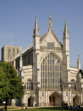 Winchester Cathedral, Hampshire, England, United Kingdom, Europe Photographic Print by Richardson Rolf