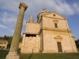 San Biagio Temple, Montepulciano, Val D'Orcia, Siena Province, Tuscany, Italy, Europe Photographic Print by Pitamitz Sergio