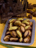 Arabic Food, Dates Stuffed with Almonds Paste, Middle East Photographic Print by Tondini Nico