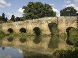 Stopham Bridge over River Arun, Near Pulborough, Sussex, England, United Kingdom, Europe Photographic Print by Richardson Rolf