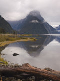 Mitre Peak, Milford Sound, South Westland, South Island, New Zealand, Pacific Photographic Print by Schlenker Jochen