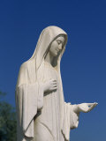 Statue of Our Lady Near St. James, Medjugorje, Bosnia Herzegovina, Europe Photographic Print by Pottage Julian