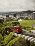 Wellington Cable Car, Wellington, North Island, New Zealand, Pacific Photographic Print by Smith Don