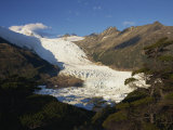 Glacier in the Magellan Straits, Tierra Del Fuego, Chile, South America Photographic Print by Wood Nick