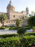 Cathedral Gardens, Palermo, Sicily, Italy, Europe Photographic Print by Olivieri Oliviero