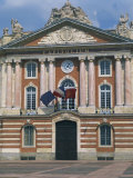 Capitole Building in Toulouse, Haute Garonne, Midi Pyrenees, France Photographic Print by Richardson Rolf