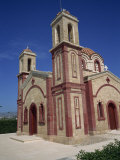 Exterior of Christian Church, St. Georges Church at Paphos on the West of the Island, Cyprus Photographic Print by Teegan Tom