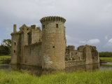 Caerlaverock Castle, Near Dumfries,Dumfries and Galloway, Scotland, United Kingdom, Europe Photographic Print by Richardson Rolf