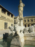 Fuente De Los Leones in Plaza Del Populo, Baeza, Jaen, Andalucia, Spain Photographic Print by Tomlinson Ruth