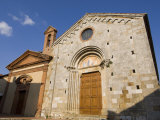 San Leonardo Church, Montefollonico, Val D'Orcia, Siena Province, Tuscany, Italy, Europe Photographic Print by Pitamitz Sergio
