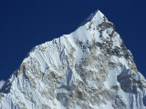 Snow Covered Nuptse Peak Seen from Kala Patar in the Himalayas, Nepal Photographic Print by Poole David