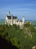 Neuschwanstein Castle, Bavaria, Germany, Europe Photographic Print by Scholey Peter