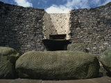 Newgrange, County Meath, Leinster, Republic of Ireland, Europe Photographic Print by Woolfitt Adam