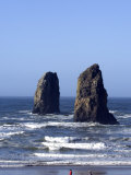 Haystack Rock, Cannon Beach, Oregon, United States of America, North America Photographic Print by DeFreitas Michael