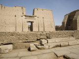 Temple of Edfu, Egypt, North Africa, Africa Photographic Print by Olivieri Oliviero