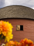 Route 66 Round Barn, Arcadia, Oklahoma, United States of America, North America Photographic Print by Snell Michael