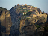 Monastery of Barlam, Meteora, UNESCO World Heritage Site, Greece, Europe Photographic Print by Simanor Eitan