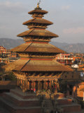 Five Storey Nyatapola Temple, Taumadhi Square, Bhaktapur, Nepal Photographic Print by Jane Sweeney