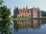 Egeskov Castle, Funen, Denmark, Scandinavia, Europe Photographic Print by Woolfitt Adam
