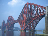 Forth Railway Bridge, Built in 1890, Firth of Forth, Scotland, United Kingdom, Europe Photographic Print by Waltham Tony