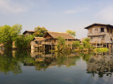 Tha Lay Floating Village, Inle Lake, Shan States, Myanmar Photographic Print by Schlenker Jochen