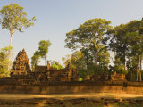 Banteay Srei, Angkor, UNESCO World Heritage Site, Siem Reap, Cambodia, Indochina, Southeast Asia Photographic Print by Schlenker Jochen