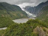 Franz Josef Glacier, Westland, UNESCO World Heritage Site, South Island, New Zealand, Pacific Photographic Print by Schlenker Jochen