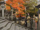 Top of Mount Inari, Fushimi Inari-Taisha Shrine, Kyoto, Kansai, Honshu, Japan Photographic Print by Schlenker Jochen