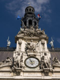 Hotel De Ville, Paris, France, Europe Photographic Print by Pitamitz Sergio