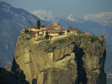 Monastery of the Holy Trinity, Meteora, UNESCO World Heritage Site, Greece, Europe Photographic Print by Simanor Eitan