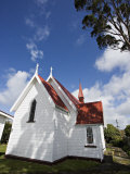 Traditional Weatherboard Church, Near Kimbolton, in Rural Manawatu, North Island, New Zealand Photographic Print by Smith Don